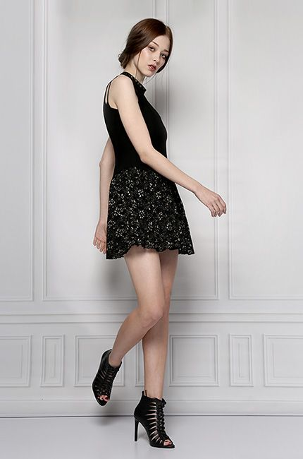black party dress furelle