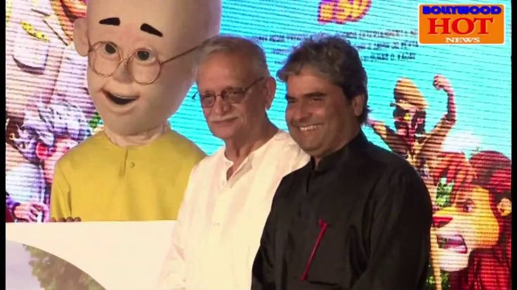 Motu Patlu King Of Kings Animated Film Music Launch | Vishal Bhardwaj | ...