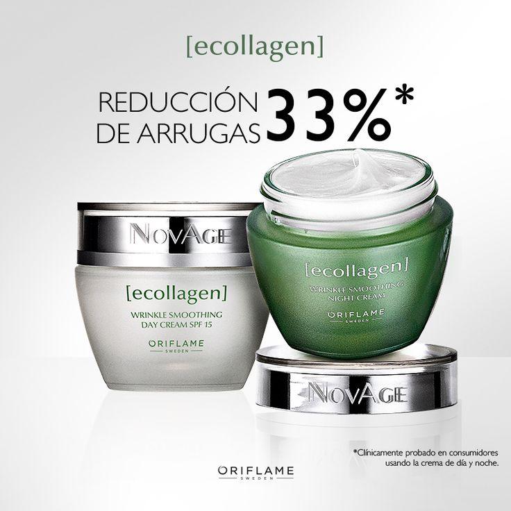 Conoce la nueva imagen de #NovAge Ecollagen: La Revolución Anti arrugas ¡Potencia los niveles de #colágeno en tu #piel! #ConCienciaSueca