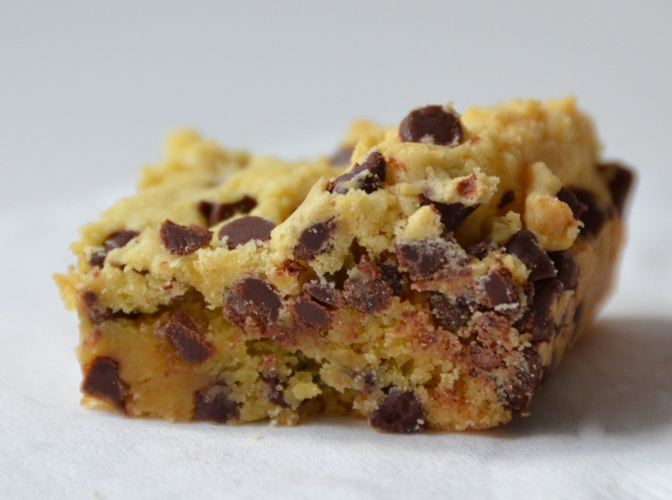 Lazy Cake Cookie Bars ~