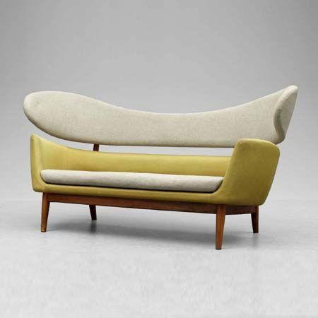 Sofa by Finn Juhl.  Love, Love, Love.