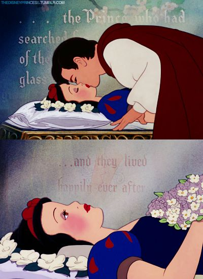 Snow White ~ ...with the kiss, she awoke...