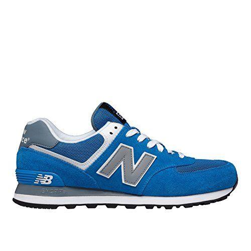 New Balance Men's ML574 Core Plus Running Shoe, Blue/Grey, 11 D US - http://all-shoes-online.com/new-balance/11-d-m-us-new-balance-mens-ml574-core-plus-sneaker-3