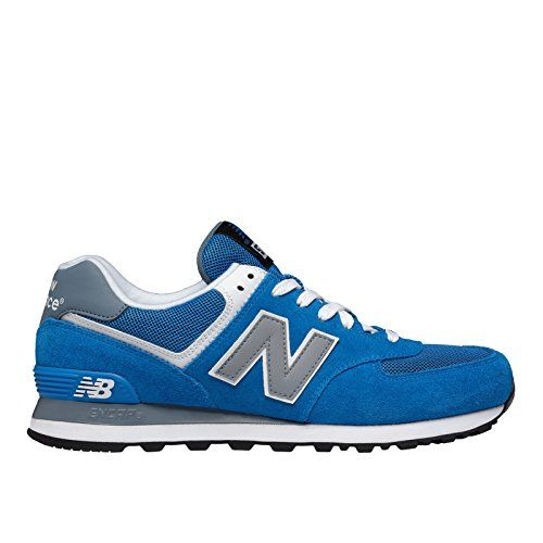 New Balance Men's ML574 Core Plus Running Shoe, Blue/Grey, 11 D US - http://all-shoes-online.com/new-balance/11-d-m-us-new-balance-mens-ml574-core-plus-sneaker-3