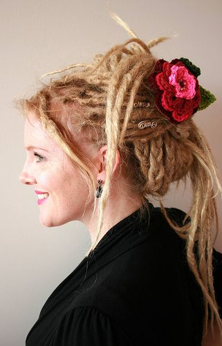 wedding hairstyles for dreads | When you are browsing the blog page will find examples of dreadlocks ...