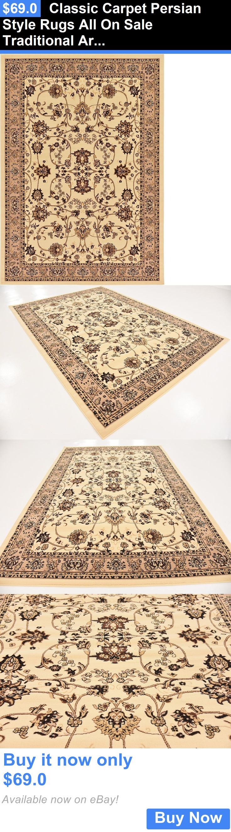 household items: Classic Carpet Persian Style Rugs All On Sale Traditional Area Rug Oriental Rugs BUY IT NOW ONLY: $69.0