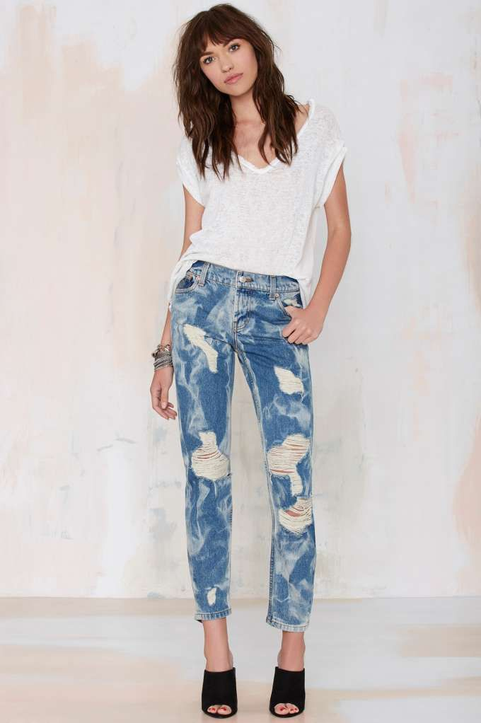 The Laundry Room California Bad Boys Boyfriend Jeans - Sale: 60% Off and Up | Denim