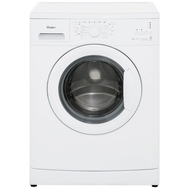 52cm deep cupboards 575mm deep  15 min quick cycle   £199  Whirlpool WWDC6400/1 6Kg Washing Machine - White