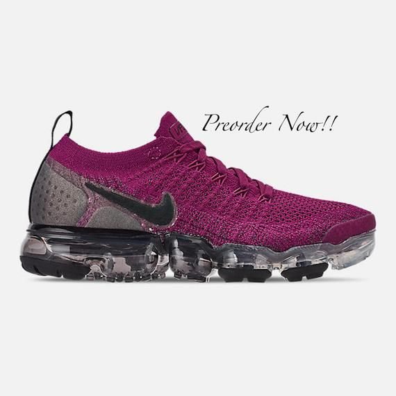Burgundy sneakers, Nike air vapormax