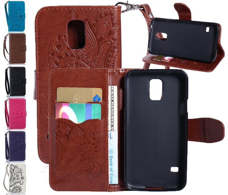 Flip Leather Case For Samsung Galaxy S5 Wallet Phone Bag Cover For Samsung Galaxy S5 Cases With Card Holders Tomkas Discount Cell Phone Cases Free Cell Phone Cases From Huang2131031, $5.33| Dhgate.Com