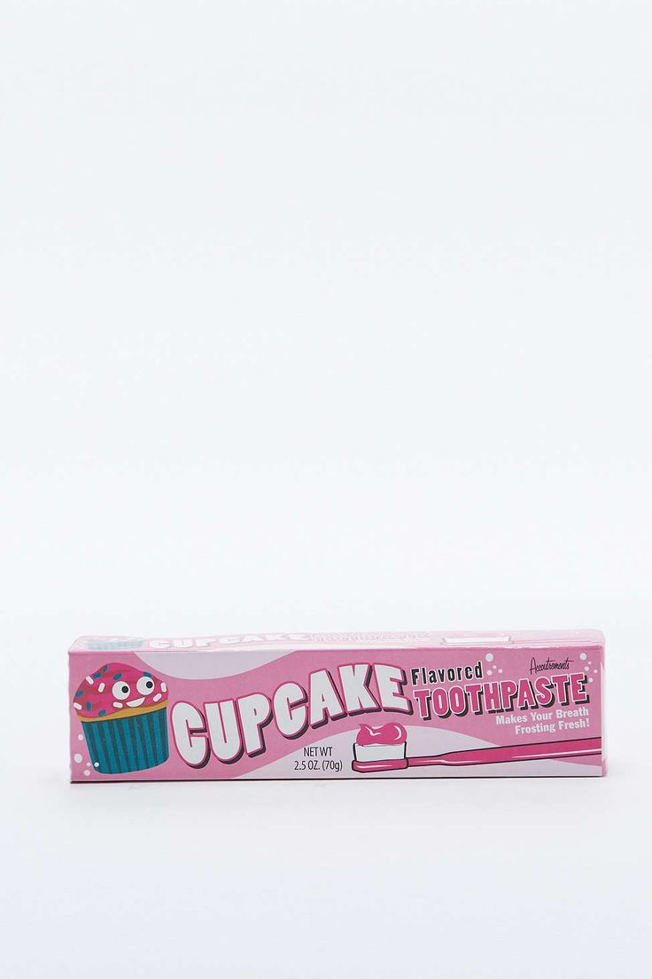 Incognito Cupcake Toothpaste