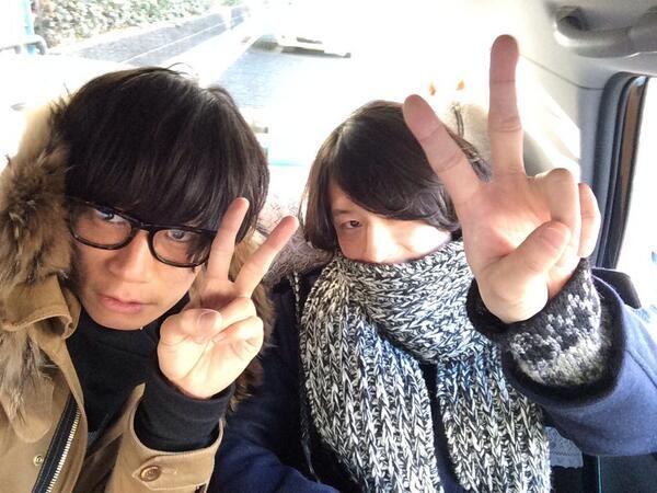 [Champagne]川上洋平・磯部寛之2013/12/12 今日は名古屋キャンペーン。この2人で周ります!にーやん