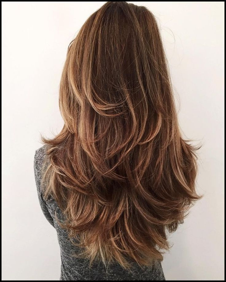 Lange Glatte Haare 15 Super Trendy Frisuren Die Sie Lieben Werden Kurzhaa Mix Photo Gestufter Haarschnitt Haarschnitt Lang Frisuren Lange Haare Schnitt