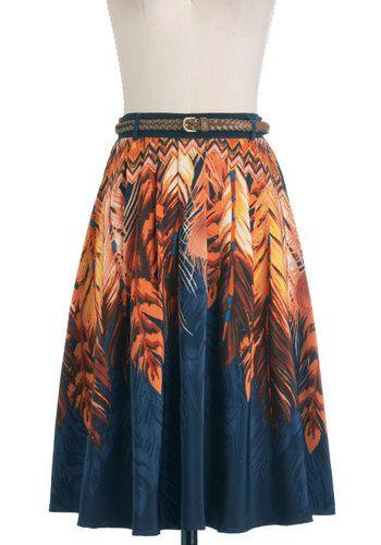 Indigo Swirls Skirt