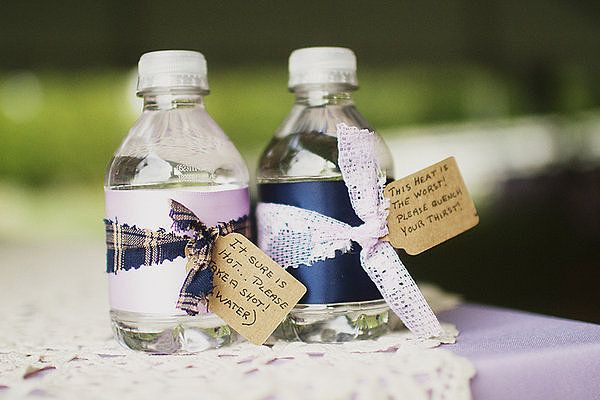 17 best images about water bottle favors on pinterest for Diy mineral water bottle