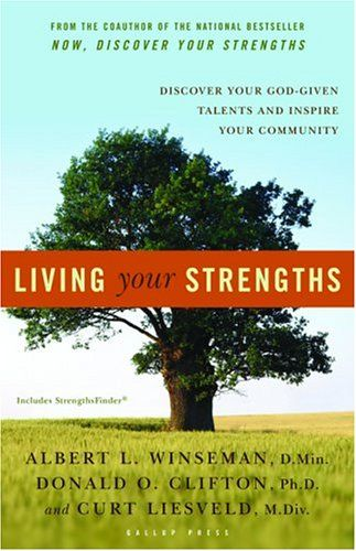 Living Your Strengths is a great book for helping you find your strengths and calling.  When you buy it, you gain access to the Clifton Strengths Finder.  My Strengths (in order) are:  Woo, Input, Context, Belief, and Strategic.  And I'd say that's just right!  :)