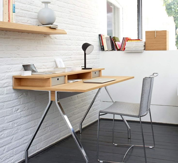 The Mateodesk From Ligne Roset, Designed By Marc Berthier, Provides Storage  At The Rear