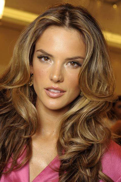 alessandra ambrosio- awesome hair!