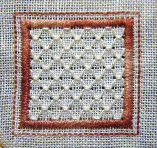 Whitework Embroidery: 15 Sided Biscornu - Free Patterns
