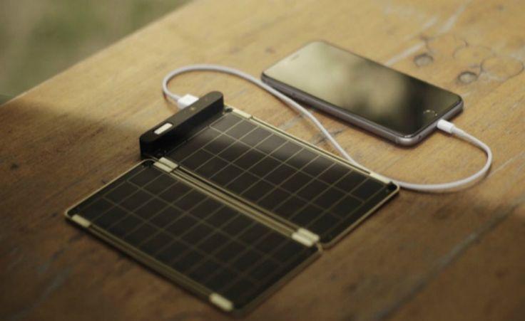 Solar Paper: o menor carregador solar do mundo é superpotente