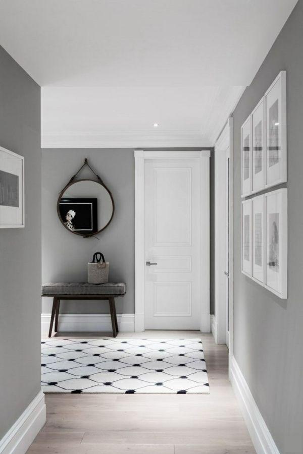 die 25+ besten ideen zu graue wände auf pinterest | graues ... - Wohnzimmer Wandfarbe Grau