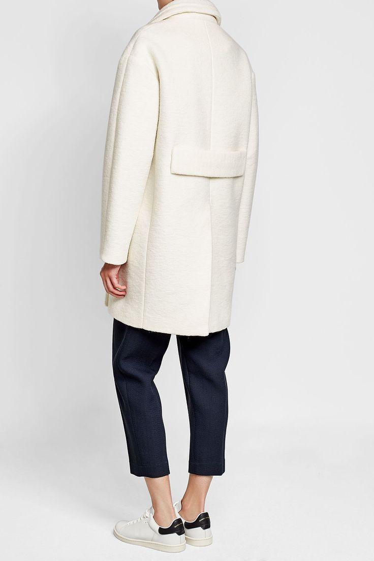 Coat with Virgin Wool - Carven | WOMEN | IT STYLEBOP.COM