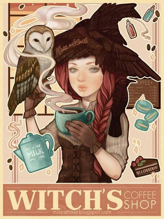 Witchs coffee shop / Torrefazione caffè delle Streghe