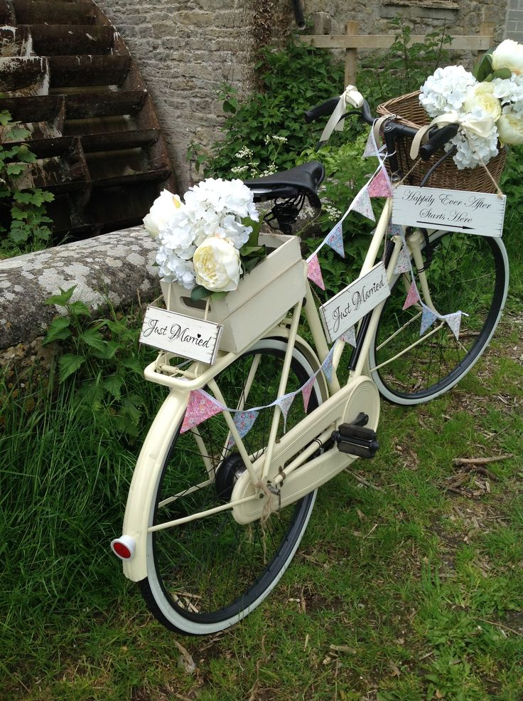142 Best Vintage Bicycles Bikes And Flowers Images On Pinterest