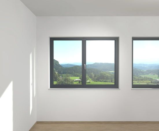 Kunststofffenster grau  Graue Kunststofffenster | Haus - Fenster & Haustür | Pinterest ...
