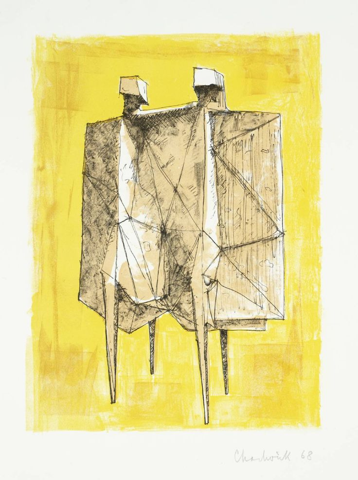 Lynn Chadwick, 'Two Winged Figures' 1968-71