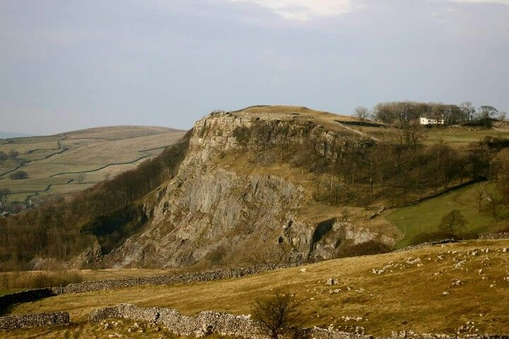 Driving from Malham Cove to Settle