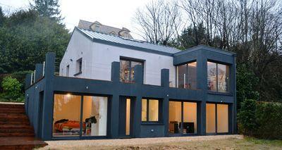 Extension et réhabilitation complète d'une maison
