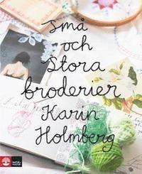 Karin Holmberg är Sveriges nya stjärna på hantverksscenen när det gäller broderi. Nu har hon skrivit en modern, lekfull och inspirerande bok om broderi med mönster för inredning, kläder och accessoarer. Boken är praktiskt inriktad med tydliga anvisningar och vänder sig till både nybörjare och mer erfarna brodöser. Boken genomsyras av Karin Holmbergs personliga stil som är färgglad, romantisk och med en fläkt av svunna tider. Följ Karins blogg.