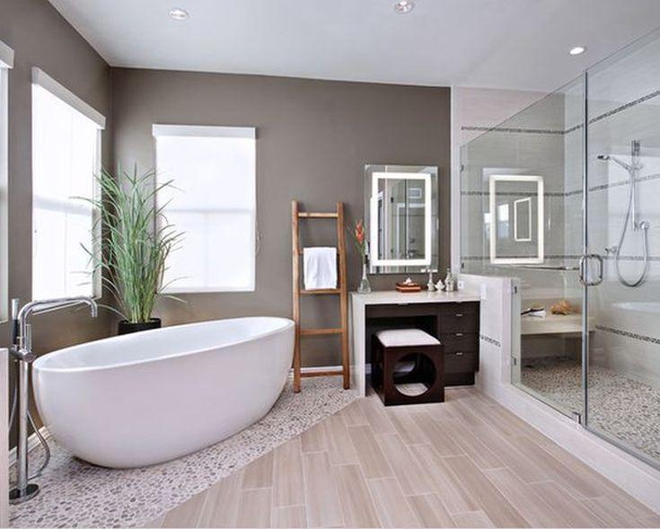 contemporary bathroom interior with minimalist master bathroom floor plans shown by symmetric tub setting magnificent master bathroom remodeling design