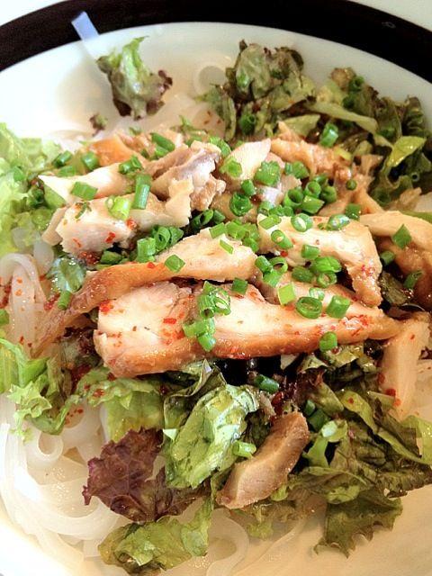 レシピとお料理がひらめくSnapDish - 4件のもぐもぐ - 冷やし鳥うどん(フォー) #麺 by Takashi H.