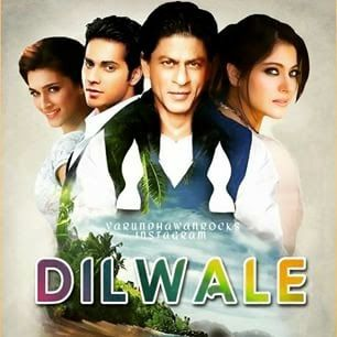 Shah Rukh Khan, Kajol, Varun Dhawan New Upcoming movie Dilwale poster & release date info