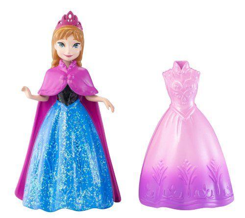 La mode et la poupée MagiClip Anna congelé de Disney Mattel http://www.amazon.fr/dp/B00C6Q9VLK/ref=cm_sw_r_pi_dp_5DYLtb0XRY80FWB3