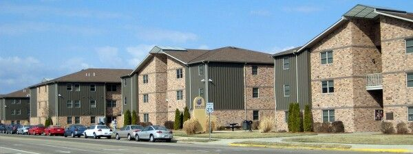 Shawnee State University campus view apartments Portsmouth Ohio