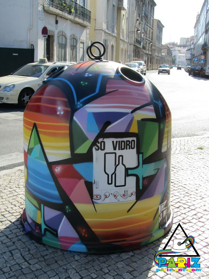 Look At This Awesome Recycling Bin In Paris Genbrug