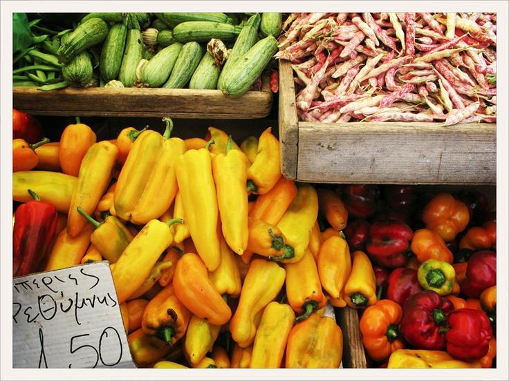 Market, Rethymno, Kreta, Crete