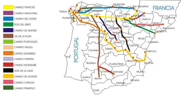camino de santiago de compostela - Buscar con Google