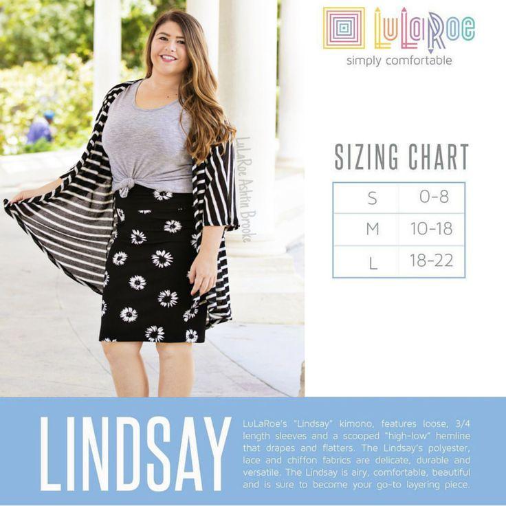 lularoe size chart lindsay LuLaRoe Lindsay Kimono Lula Waves