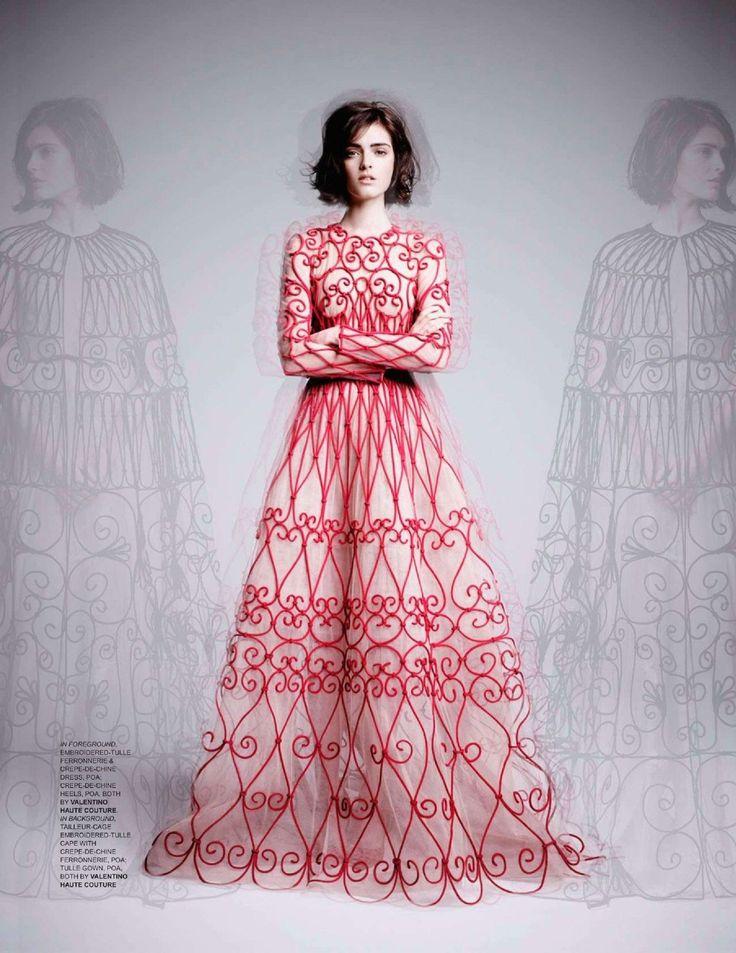 Mejores 405 imágenes de Couture in Editorial en Pinterest ...