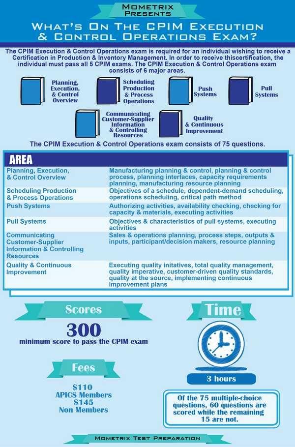 How to Prepare for the CPIM Exams - APICS