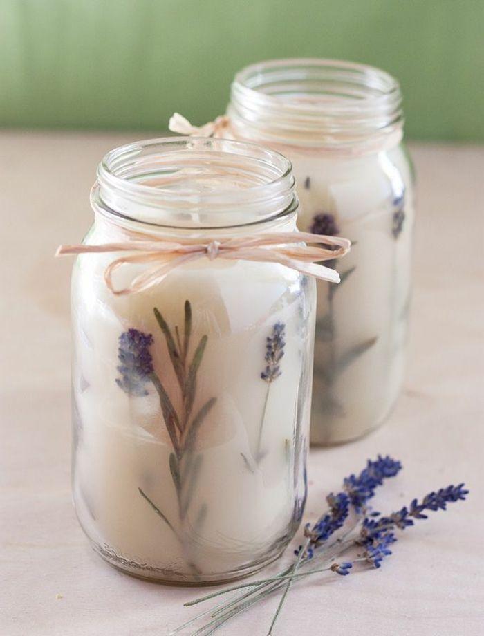 kerzen selber machen   diy duftkerzen mit lavendel