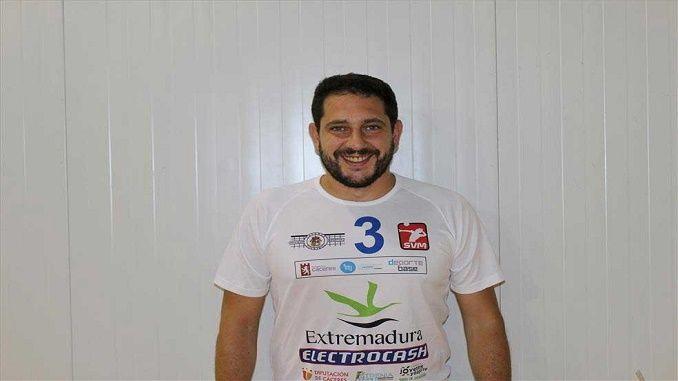 Deportes Extremadura entrevista a José Alejandro Acedo, capitán y colocador del equipo de Superliga masculina, Electrocash Caceres