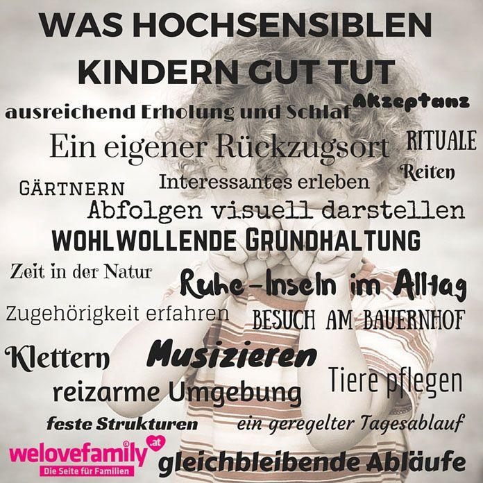 Wie du dein hochsensibles Kind im Alltag begleiten kannst - welovefamily.at