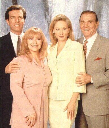 The Abbott Family  john, jack, tracy, ashley
