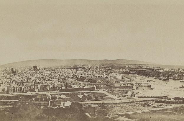 Vista de Barcelona (1876)   Història de Barcelona