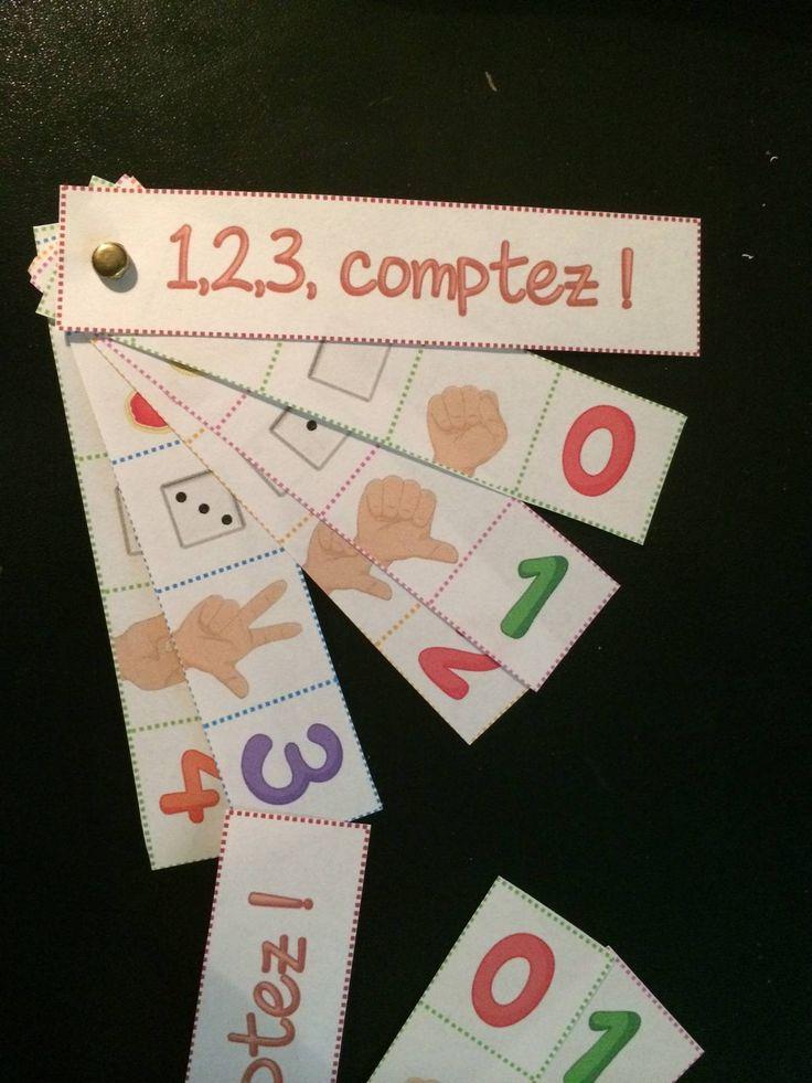"""Mémo des nombres de 1 à 10 à la façon """"Incollables"""" http://www.iticus.fr/?p=646"""